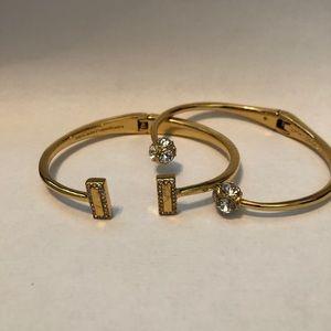Kate Spade cuff bracelet set